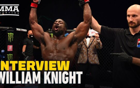 William Knight Wants To Earn Justin Gaethje 'Savage' Status, Recaps UFC 253 Win – MMA Fighting