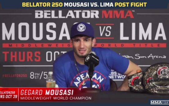 Bellator 250: Gegard Mousasi Says John Salter Next For Middleweight Title Defense – MMA Fighting
