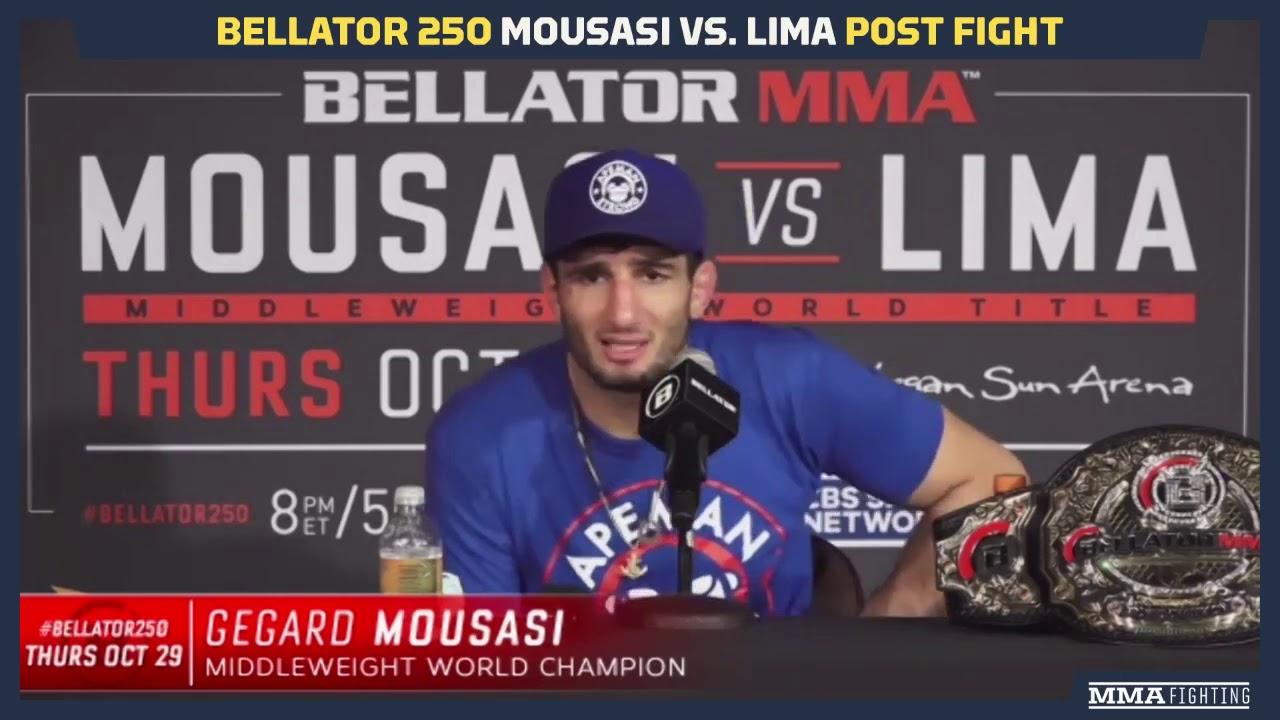Bellator 250: Gegard Mousasi Says John Salter Next For Middleweight Title Defense - MMA Fighting