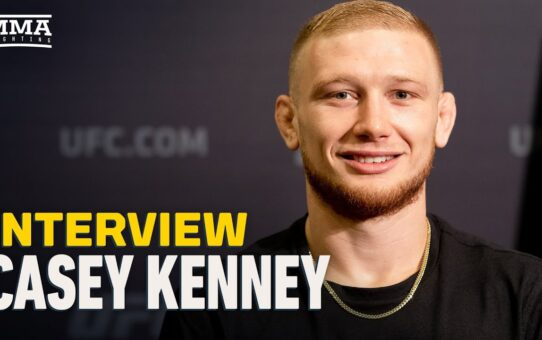 Casey Kenney Laughs At 'Basic Well-Rounded' Nathaniel Wood's UFC 254 Fight Prediction – MMA Fighting
