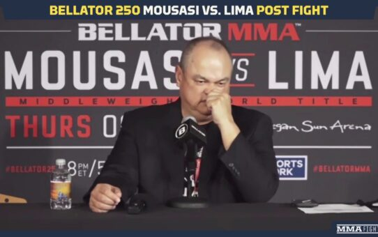 Bellator 250: Scott Coker Assesses Gegard Mousasi, Jake Hager and Henry Corrales Wins – MMA Fighting