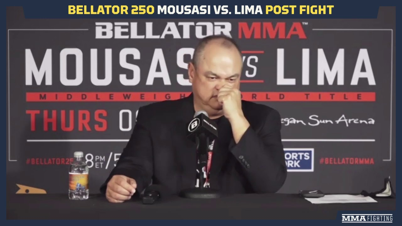 Bellator 250: Scott Coker Assesses Gegard Mousasi, Jake Hager and Henry Corrales Wins - MMA Fighting