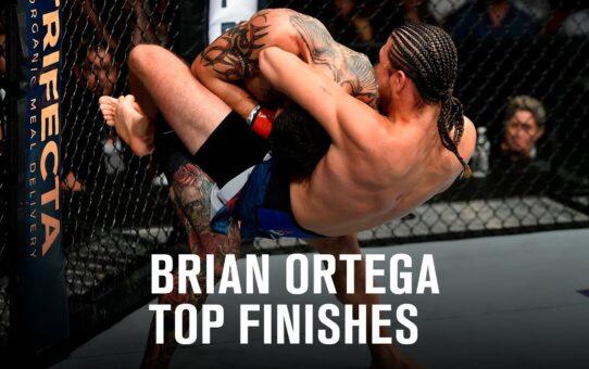Top Finishes: Brian Ortega