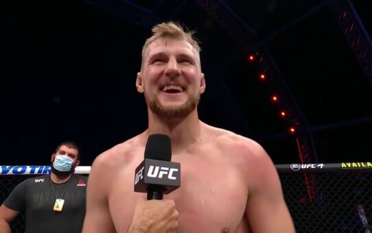 UFC 254: Alexander Volkov Octagon Interview