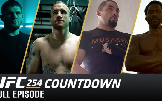 UFC 254 Countdown: Full Episode
