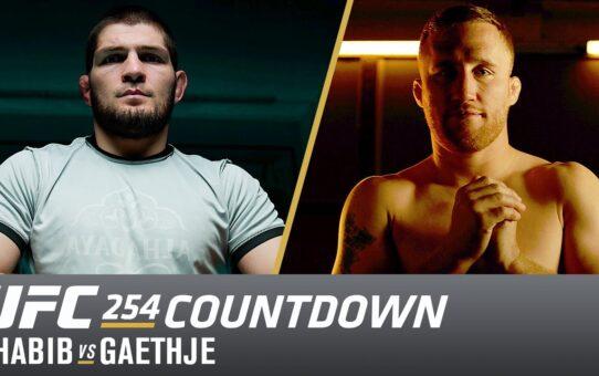 UFC 254 Countdown: Khabib vs Gaethje