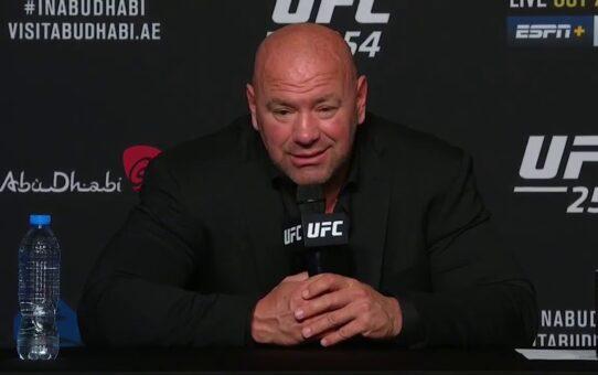 UFC 254: Dana White Post-fight Press Conference