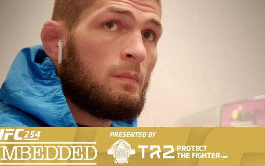 UFC 254 Embedded: Vlog Series – Episode 4