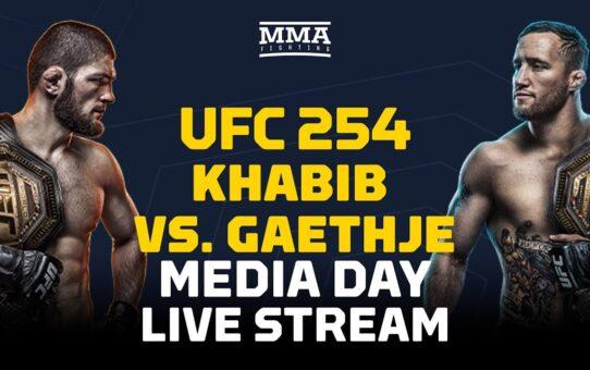 UFC 254: Khabib vs. Gaethje Media Day Live Stream – MMA Fighting