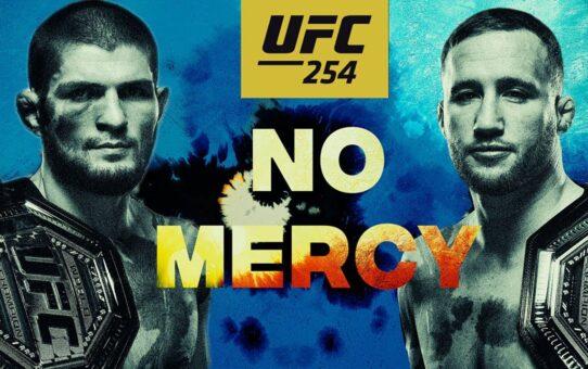 UFC 254: Khabib vs Gaethje – No Mercy | Official Trailer 2