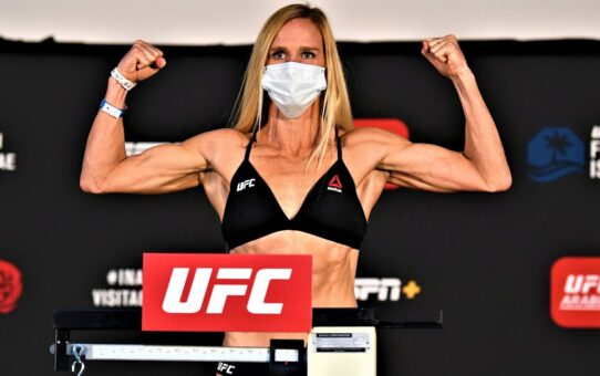 UFC Fight Island 4: Weigh-in