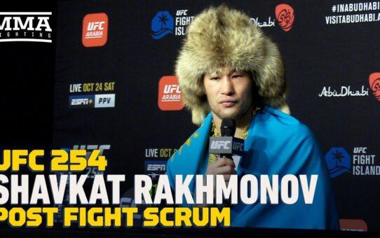 UFC 254: Shavkat Rakhmonov On Growth Of MMA In Kazakhstan, Calls Out Donald Cerrone – MMA Fighting