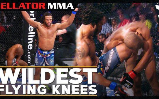 Wildest Flying Knees  | Bellator MMA Flying