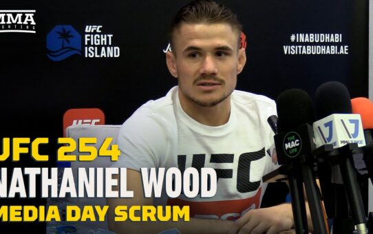 UFC 254: Nathaniel Wood Says Casey Kenney Will Shoot For Takedown 'After Two Minutes' – MMA Fighting