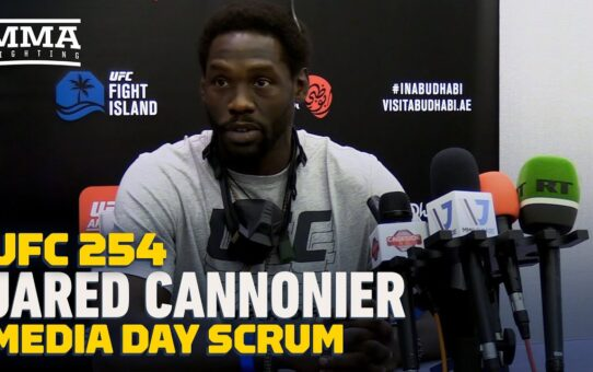 UFC 254: Jared Cannonier Says Goal Is Winning UFC Title, Not Fighting Israel Adesanya – MMA Fighting