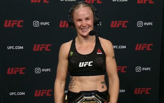 UFC 255: Valentina Shevchenko Defends Flyweight Title | Post-fight Interview