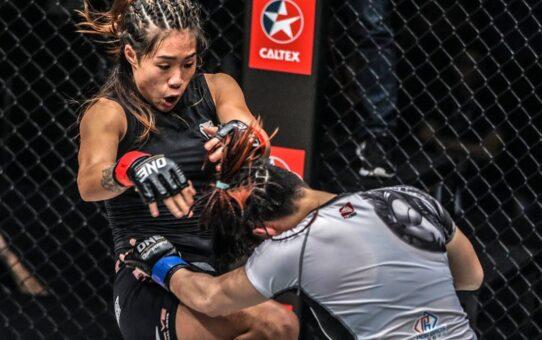 Angela Lee's ULTIMATE Striking Highlights