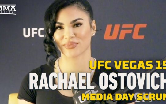 UFC Vegas 15: Rachael Ostovich 'Not a Fan' Of USADA After 8-Month Suspension – MMA Fighting