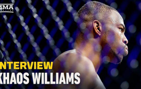 Khaos Williams Admits UFC Vegas 14 KO Was Scariest Of His Career – MMA Fighting