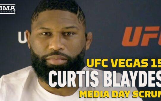 UFC Vegas 15: Curtis Blaydes Calls Derrick Lewis' Promise to Wrestle 'Comical' – MMA Fighting