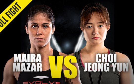 Maira Mazar vs. Choi Jeong Yun   ONE Championship Full Fight