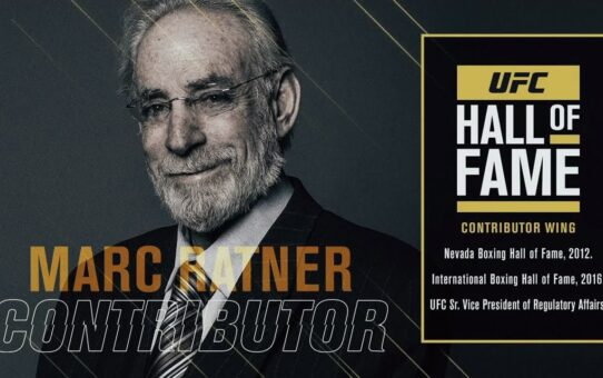 Marc Ratner Joins the UFC Hall of Fame