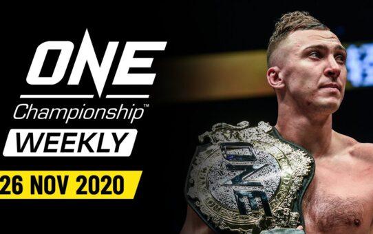 ONE Championship Weekly   25 November 2020