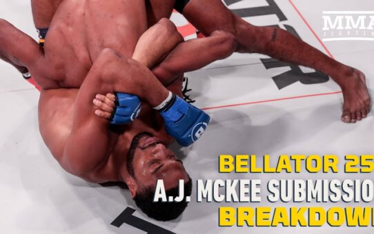 Bellator 253: A.J. McKee Submission Breakdown With E. Casey Leydon – MMA Fighting