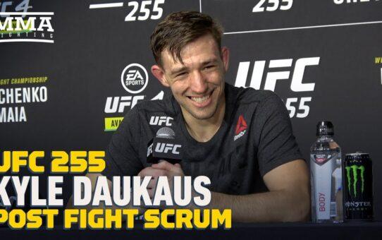 UFC 255: Kyle Daukaus Felt Win Was 'Dominant,' But 'Doesn't Rank Very High' On List – MMA Fighting