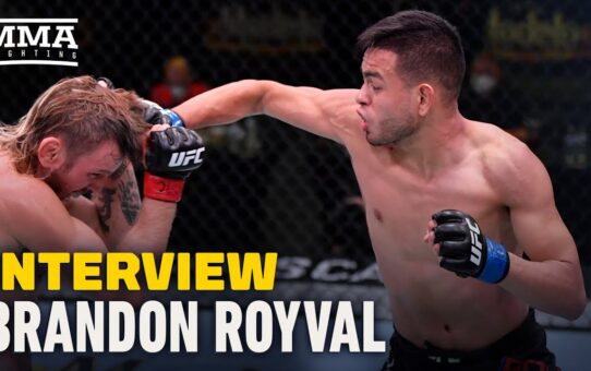 Brandon Royval Believes Fight With Brandon Moreno is True Main Event of UFC 255 – MMA Fighting