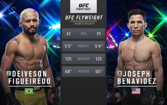 UFC 255 Free Fight: Deiveson Figueiredo vs Joseph Benavidez 2
