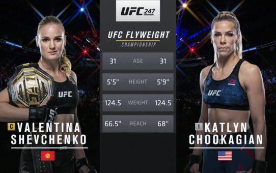 UFC 255 Free Fight: Valentina Shevchenko vs Katlyn Chookagian