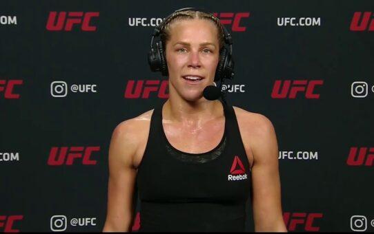 UFC 255: Katlyn Chookagian Post-fight Interview