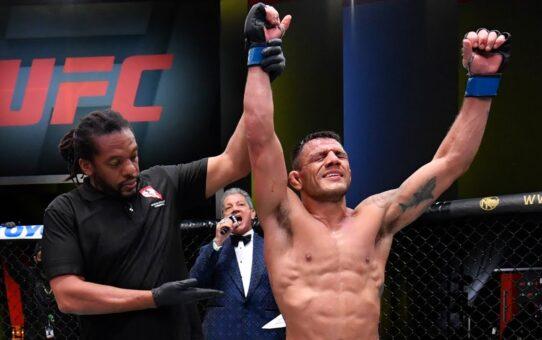 UFC Vegas 14: Rafael dos Anjos Interview after Main Event Win