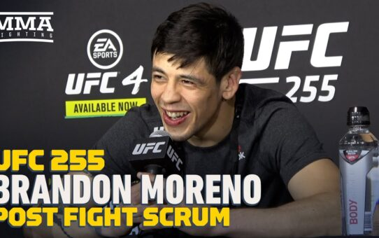 UFC 255: Brandon Moreno Wants Title Shot, Admits Road Is 'Harder' Without Trash Talk – MMA Fighting