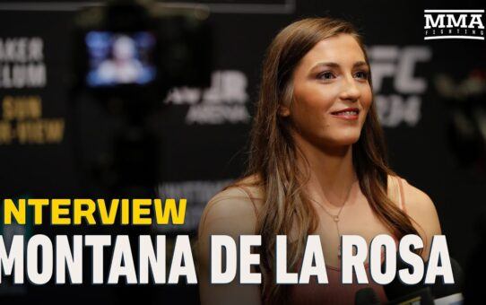 Montana De La Rosa Details Unique Training Camp Ahead of UFC Vegas 16 Fight Against Taila Santos
