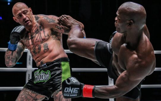 Alain Ngalani's ULTIMATE Striking Highlights