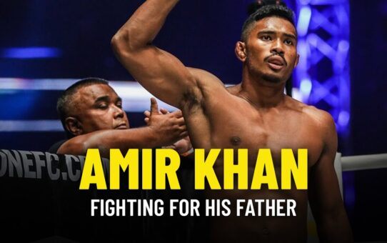 Amir Khan Fights For Father Just Days After His Passing