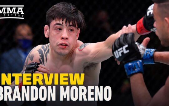 Brandon Moreno Plans To 'Take Everything' From Deiveson Figueiredo and 'Put It In My Hands'