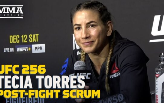 UFC 256: Tecia Torres Wants Top-10 Opponent Next, Open To Last-Minute Bout on Fight Island