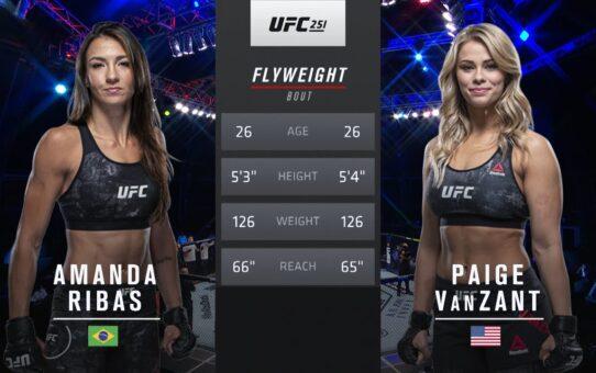 Free Fight: Amanda Ribas vs Paige VanZant