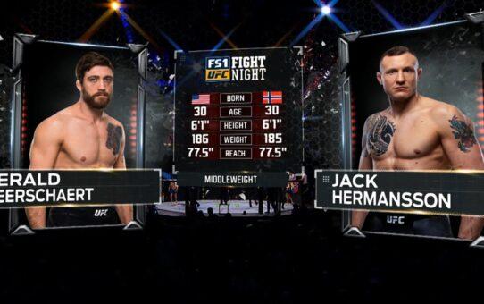 Free Fight: Jack Hermansson vs Gerald Meerschaert