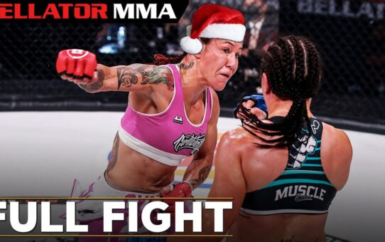 FULL FIGHT CHRISTMAS: Cris Cyborg vs Arlene Blencowe | Bellator MMA 249
