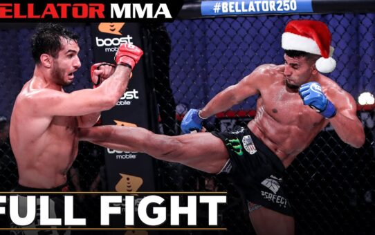 FULL FIGHT CHRISTMAS: Gegard Mousasi vs Douglas Lima | Bellator MMA 250