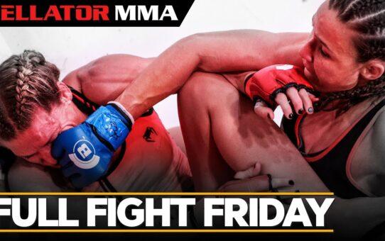 Full Fight Friday | Juliana Velasquez vs. Rebecca Ruth – Bellator MMA