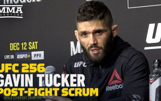UFC 256: Gavin Tucker Wants 'Fun Fight' Against 'Good Human' Alex Caceres – MMA Fighting