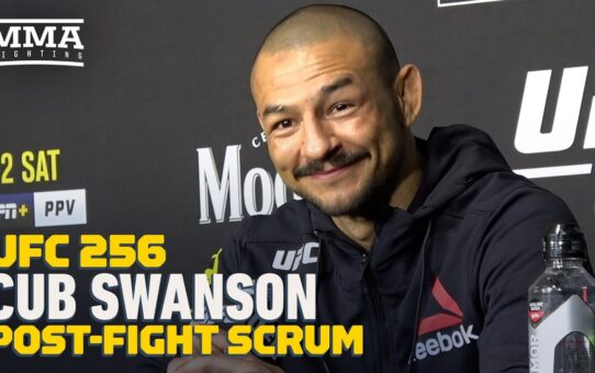 UFC 256: Cub Swanson Admits Loss Could Have Led to UFC Release: 'It Crossed My Mind' – MMA Fighting