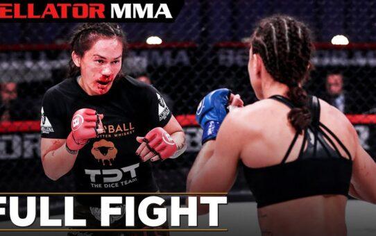 FULL FIGHT FRIDAY: Juliana Velasquez vs Ilima-Lei MacFarlane   Bellator MMA