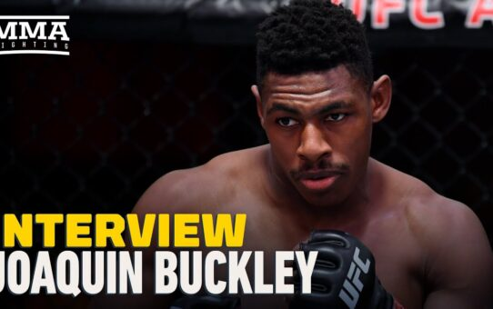 Joaquin Buckley Doubles Down on James Krause Call Out For UFC 257, Wants To Run Glory MMA Gauntlet