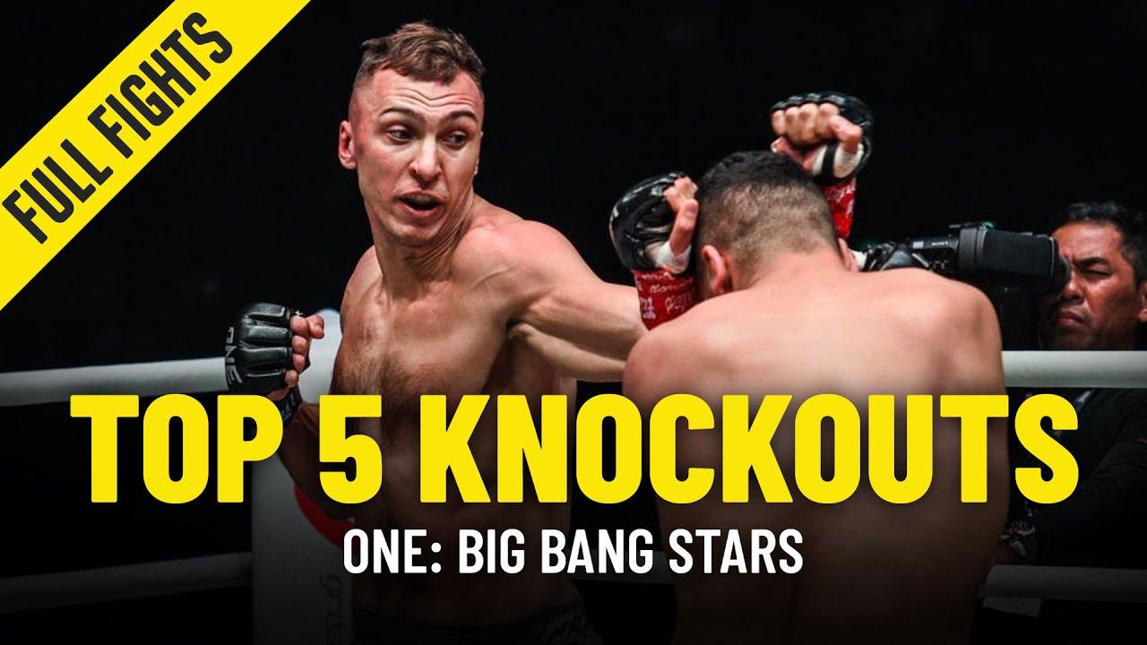 Top 5 KOs From ONE: BIG BANG Stars